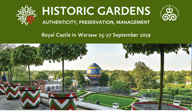 "International Scientific Conference ""Historic gardens: authenticity, preservation, management"""